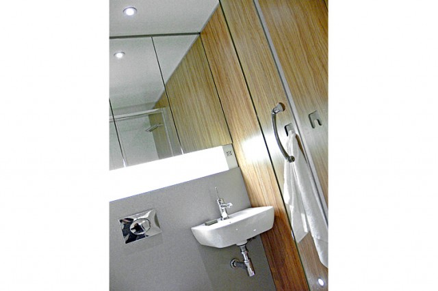 Clipclad Systems compact shower room