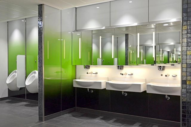 Gatwick South International Departure Lounge washrooms washstands