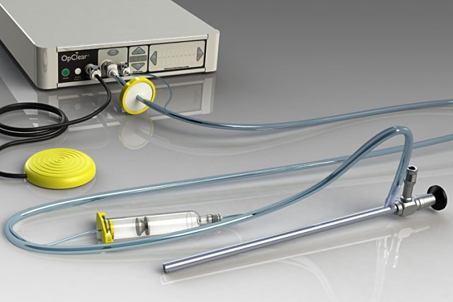 OpClear laparoscope cleaner control unit