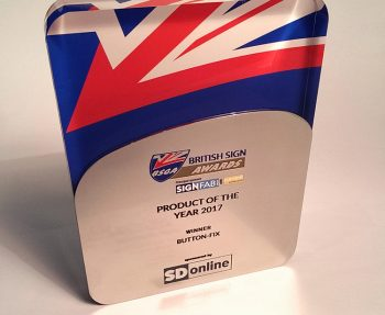 British Sign Awards Product of the Year 2017