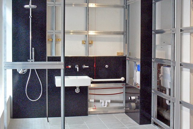 Clipclad Systems high spec. DDA-compliant shower room