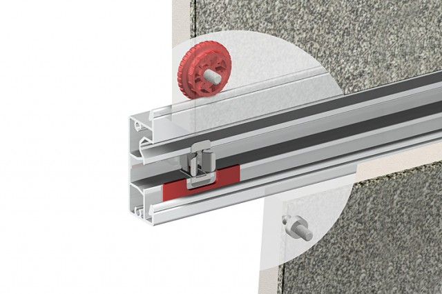 Clipclad Systems mounting detail for access panels