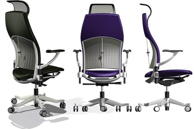 Kinnarps concept chair CAD model