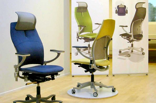 Kinnarps concept chair prototypes for user focus groups