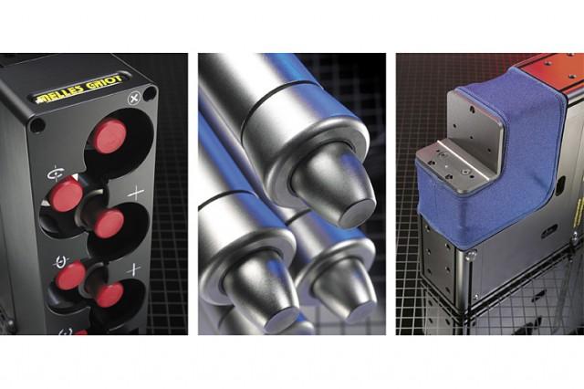 Melles Griot APT 6-axis manipulator design details