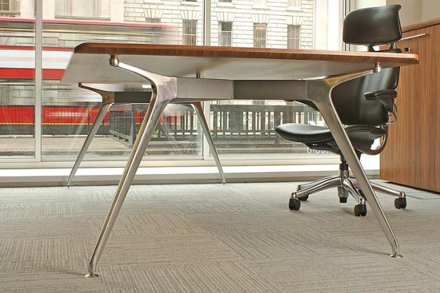 Omega table leg frame