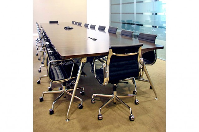 Omega conference table at