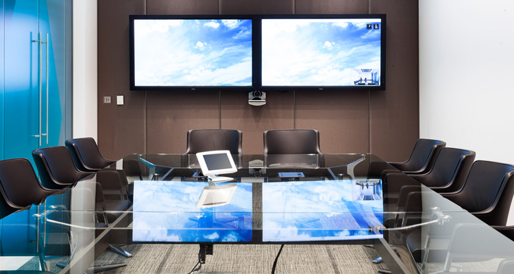 Omega conference table at Aker Solutions, London
