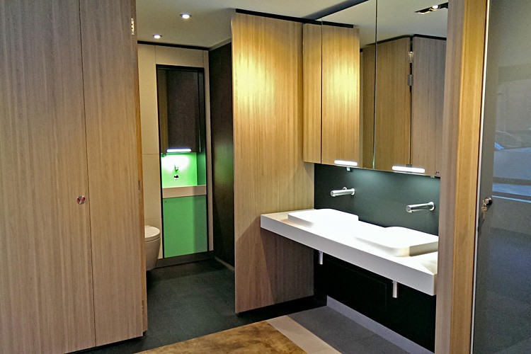 Washwall products in Grant Westfield's London showroom