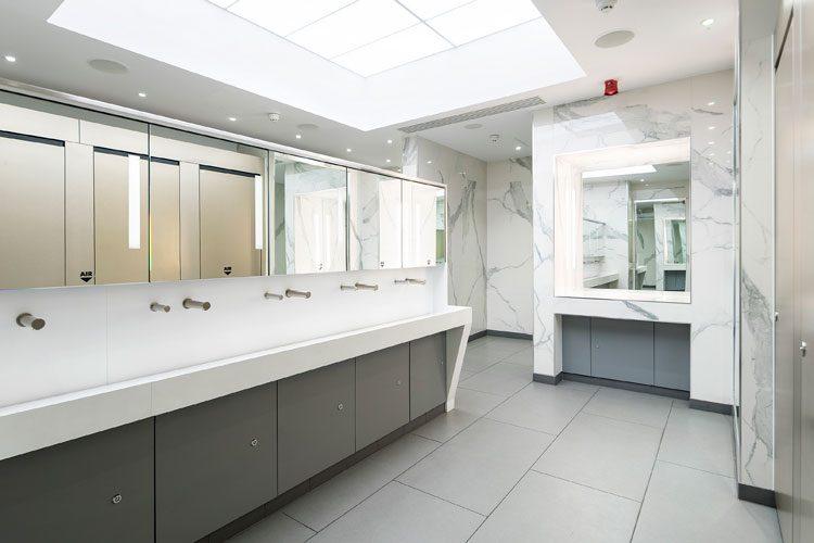 Premium washrooms at the Bullring