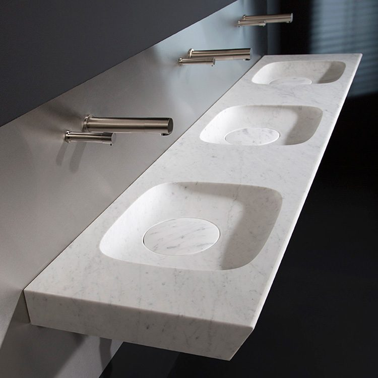 Frassk stone vanity basin