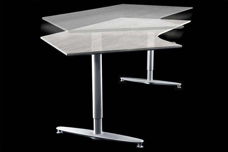 Kinnarps Series [T] sit-stand desk
