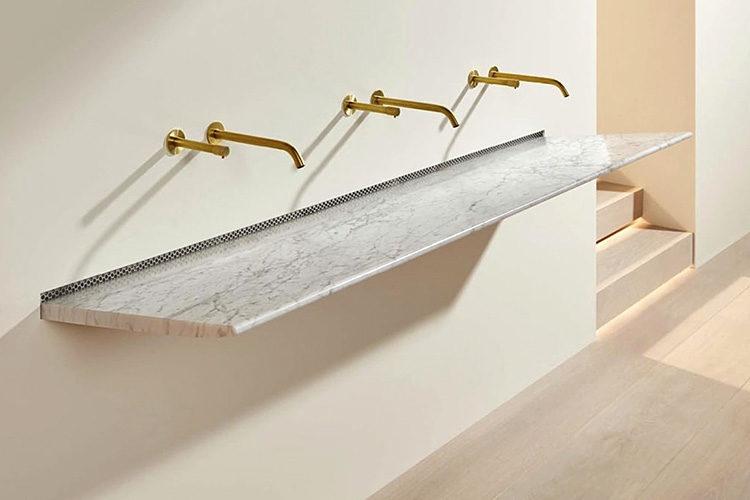 Splash Lab Aerofoil marble washbasin