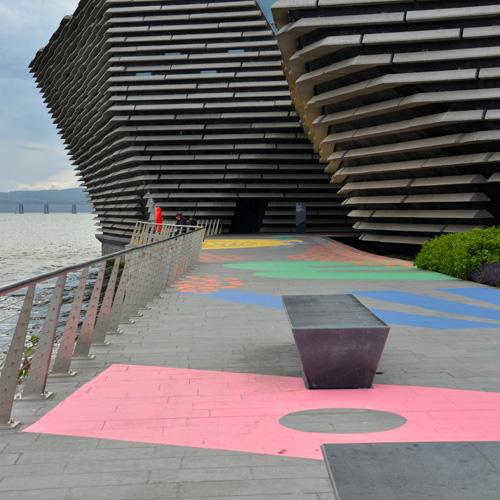 V&A Dundee - architect Kengo Kuma